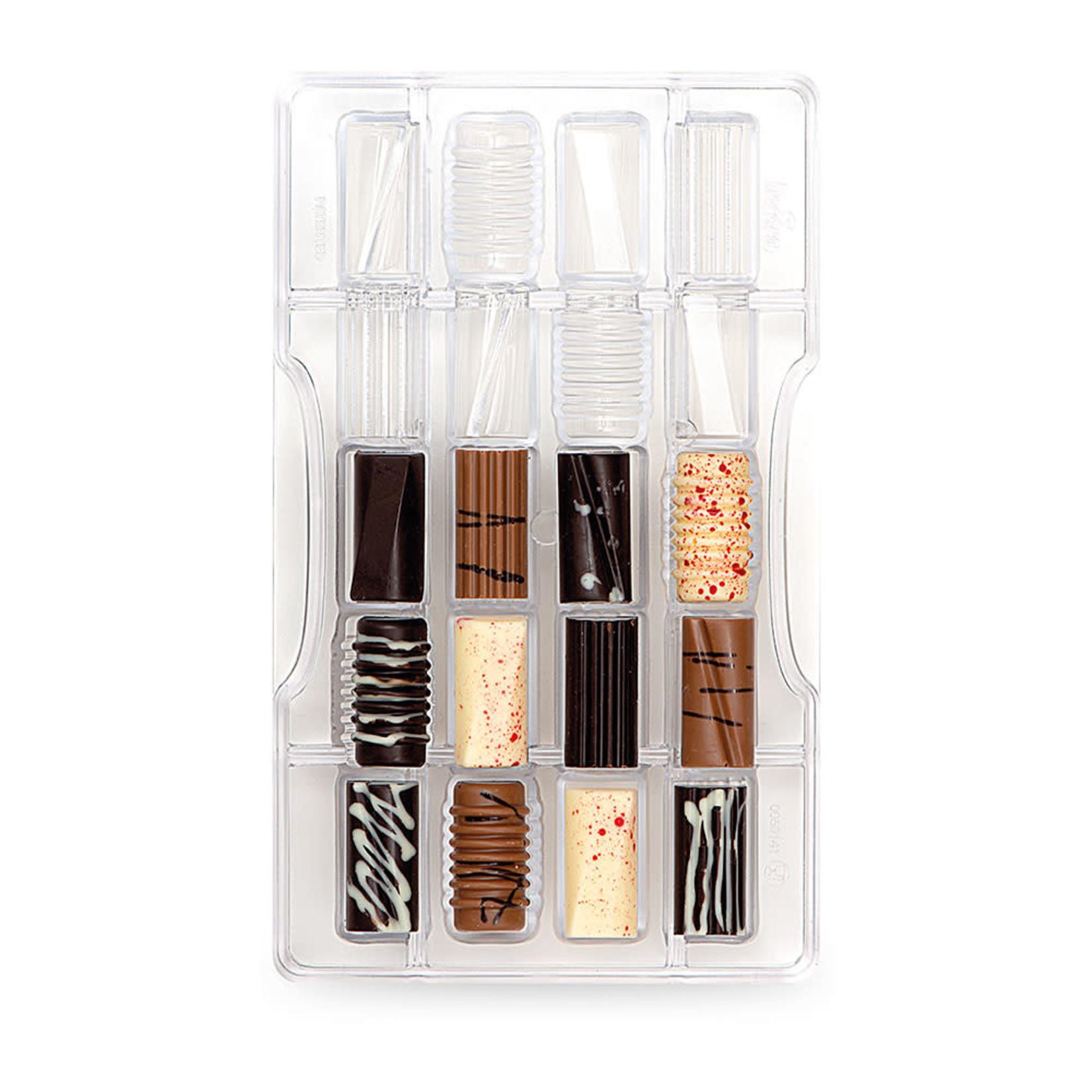 Decora Chocoladevorm polycarbonaat assorti