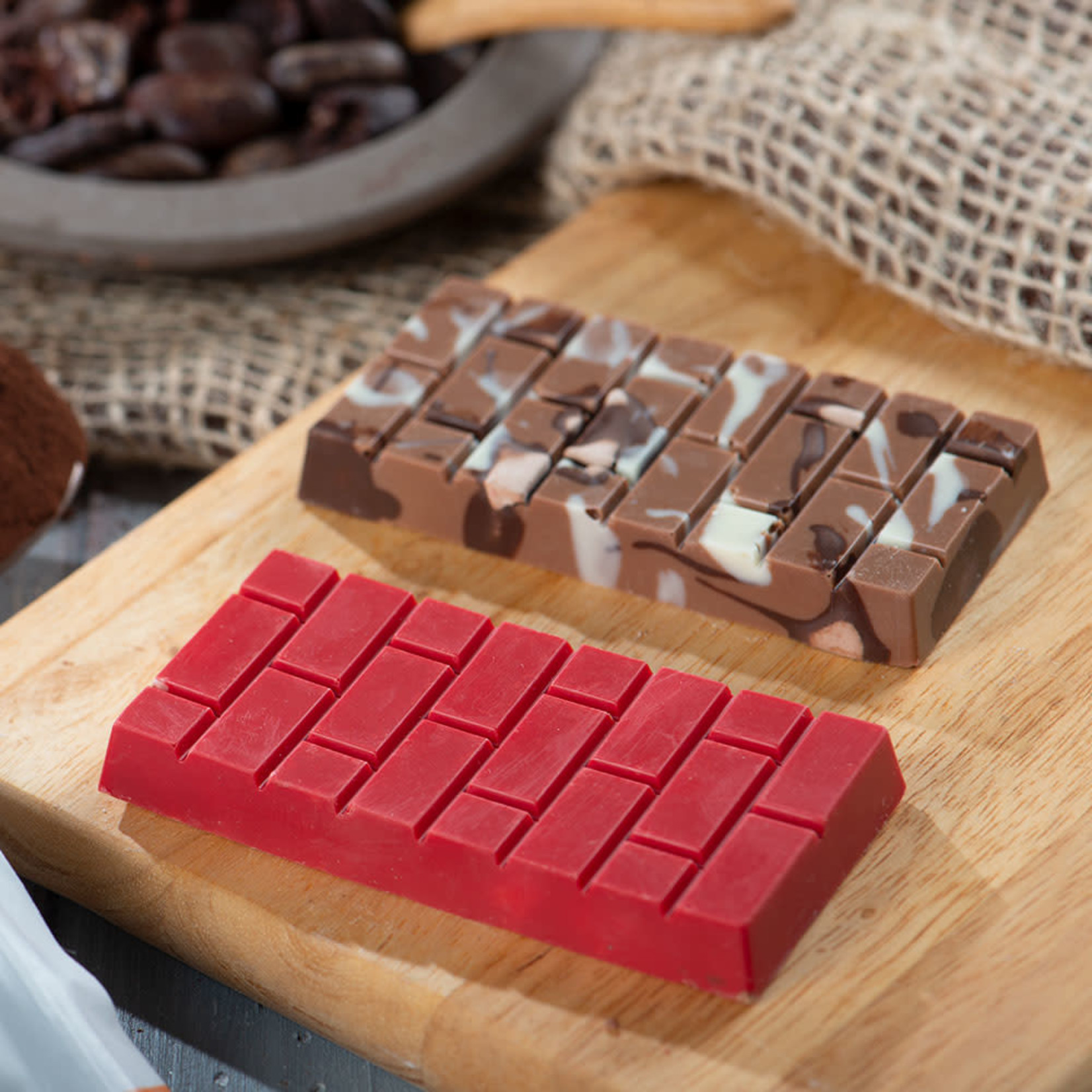 Decora Chocoladevorm polycarbonaat bakstenen