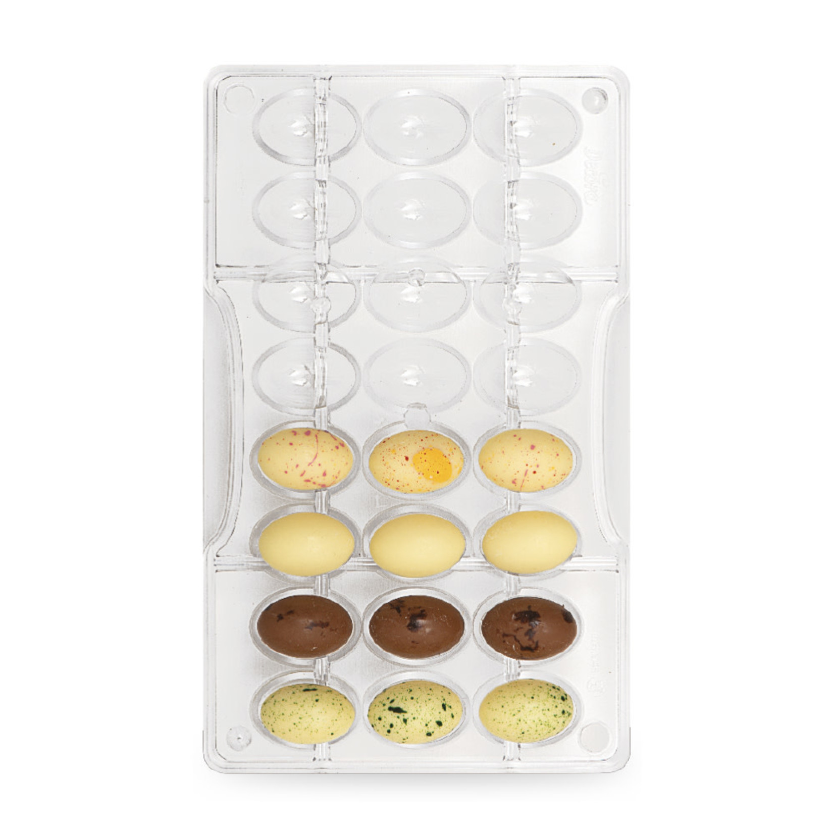 Decora Chocoladevorm polycarbonaat eitjes