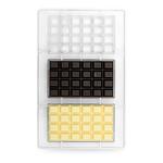 Decora Chocoladevorm polycarbonaat 3 repen van 100 gram