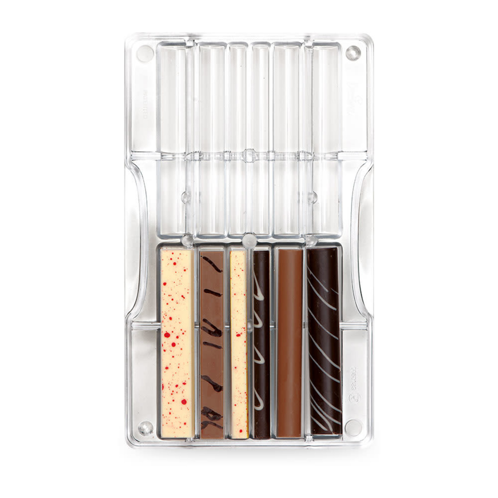 Decora Chocoladevorm polycarbonaat stokjes en balkjes