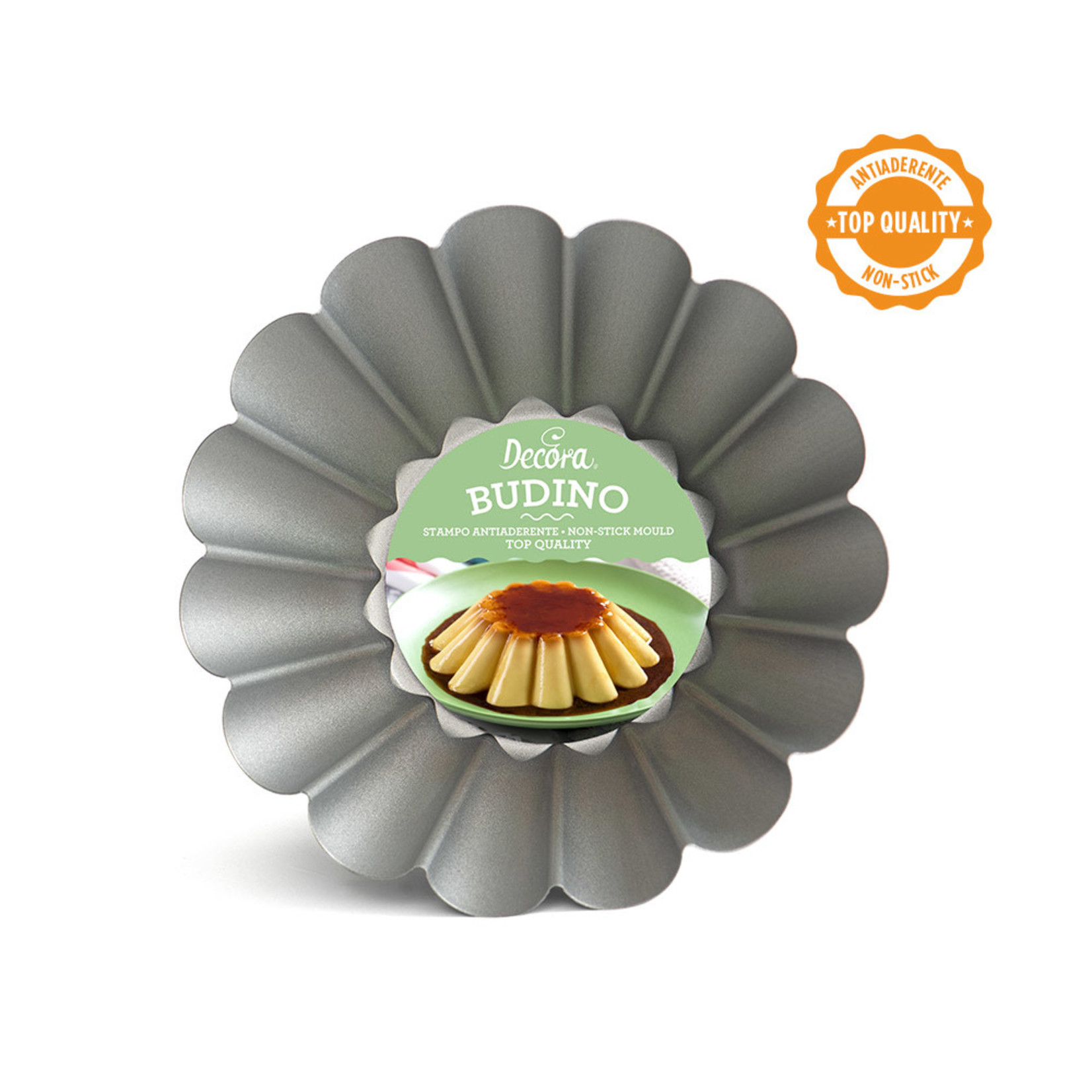 Decora Brioche/puddingvorm met antikleeflaag 20cm  /6