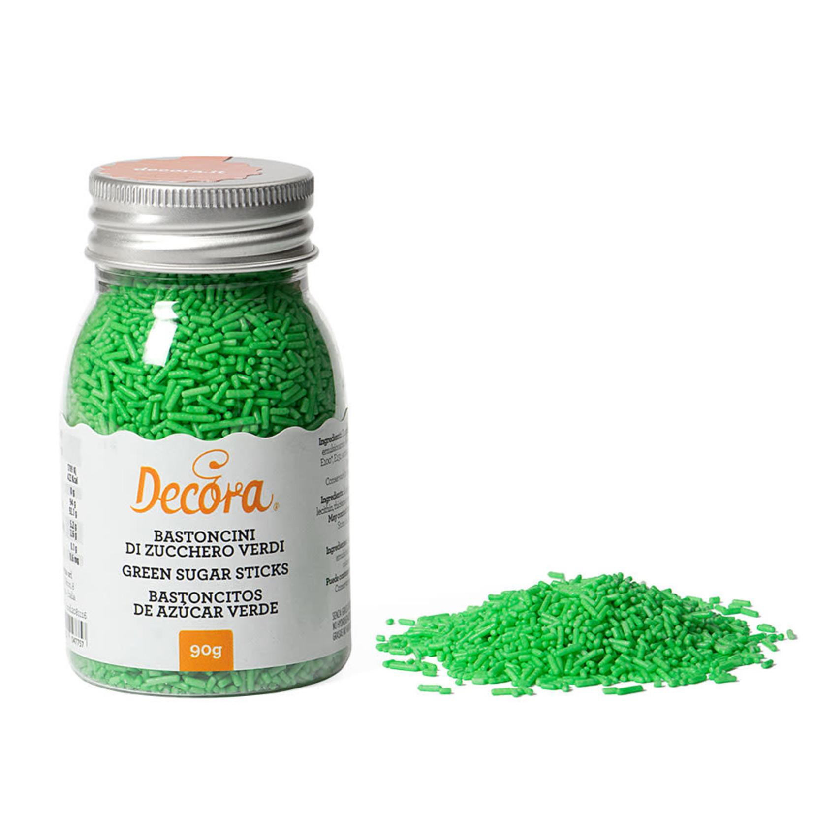 Decora Suikerhagel groen 90g  /6