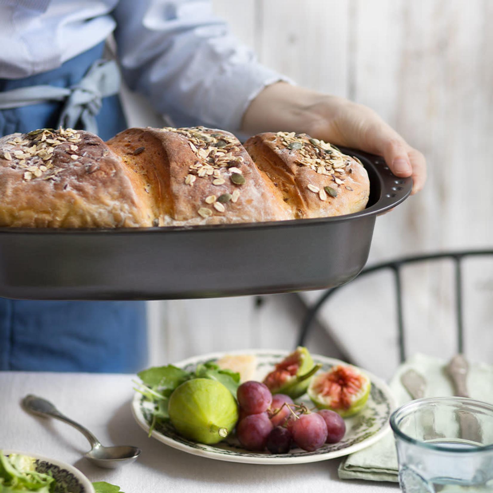 Decora Broodbakvorm/ovenschaal met antikleeflaag 37x20cm  /6