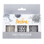 Decora Decoratieset zilver 85g  /6