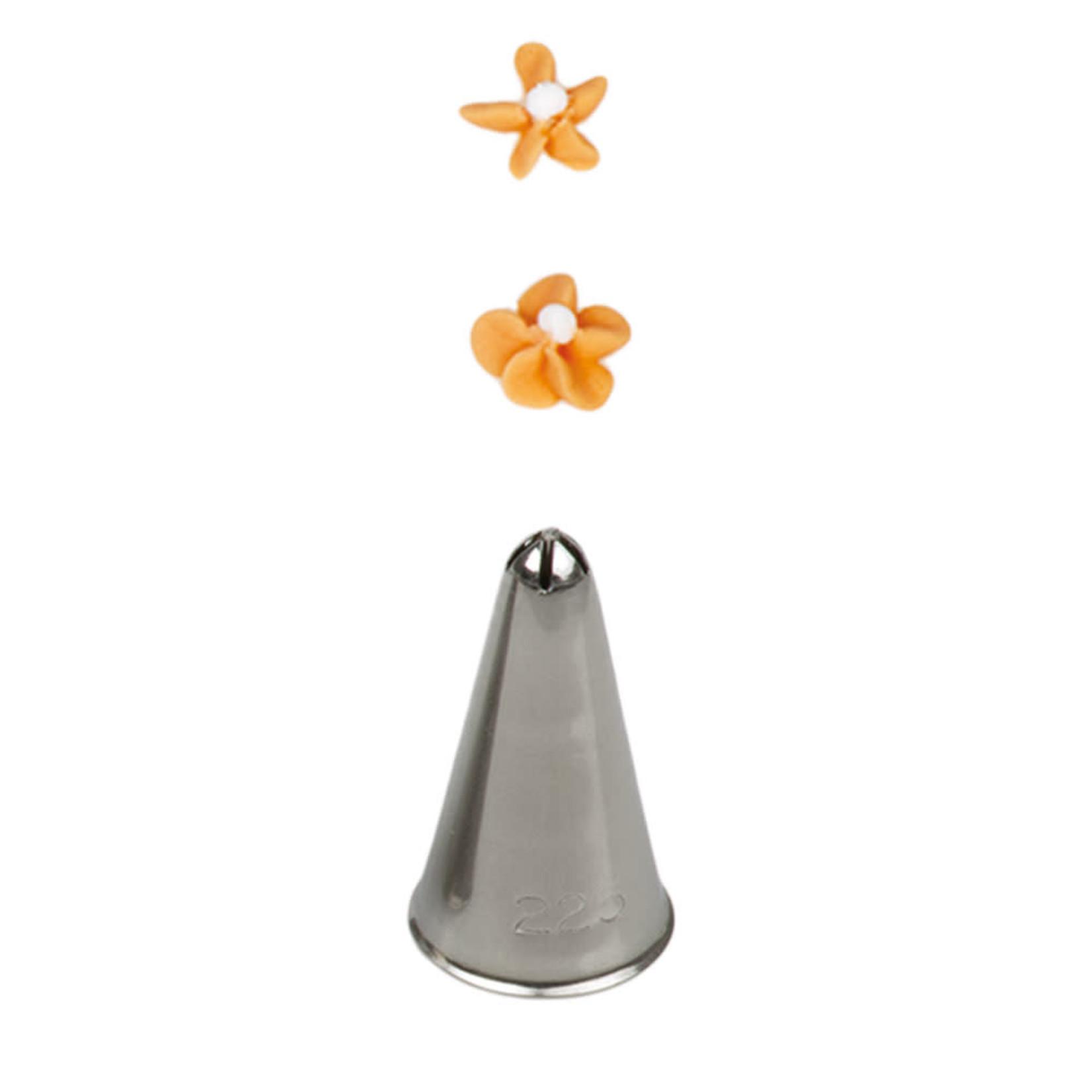 Decora Spuitmondje bloem 5 blaadjes nr. 225  /6