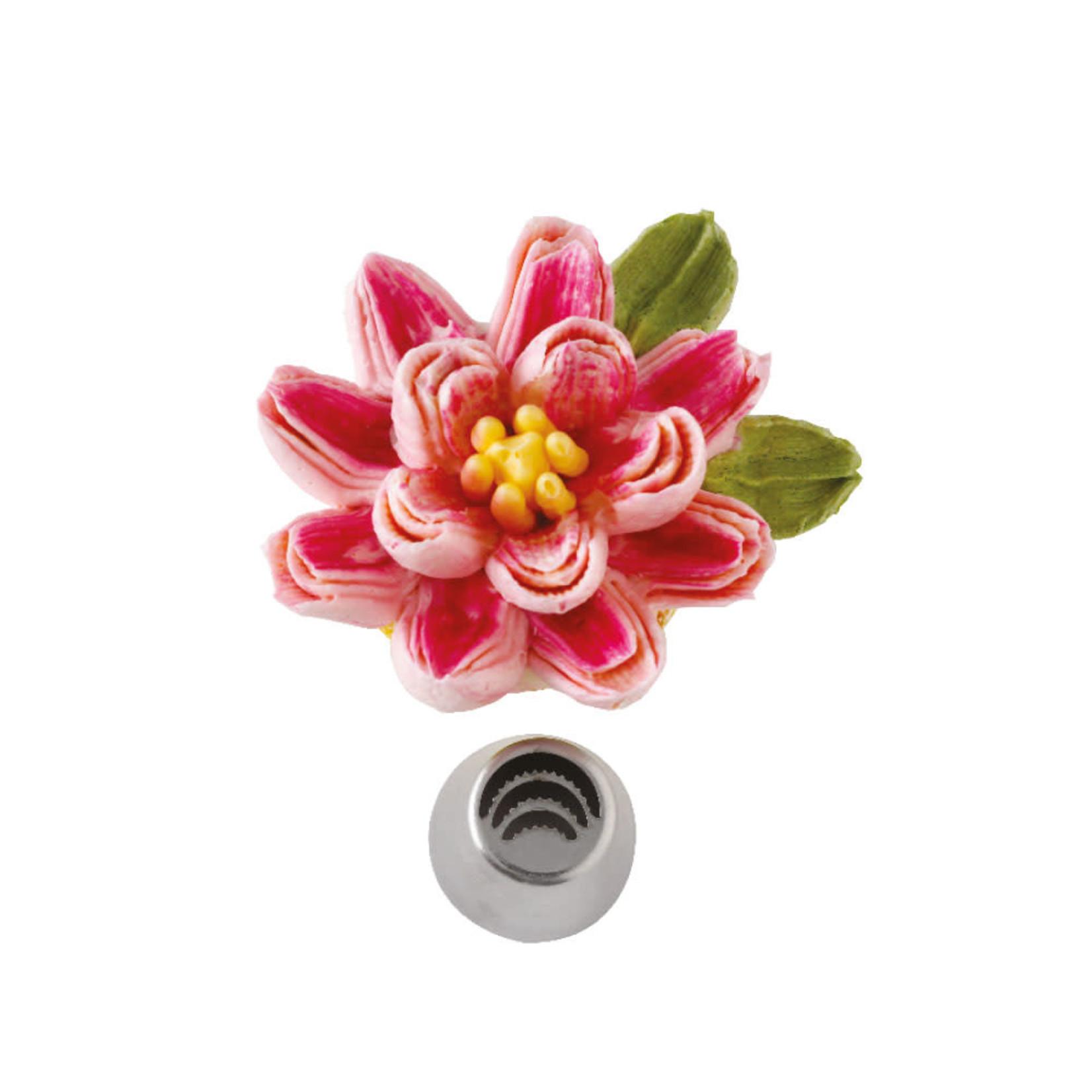 Decora Spuitmondje driedubbel bloemblaadje  /6