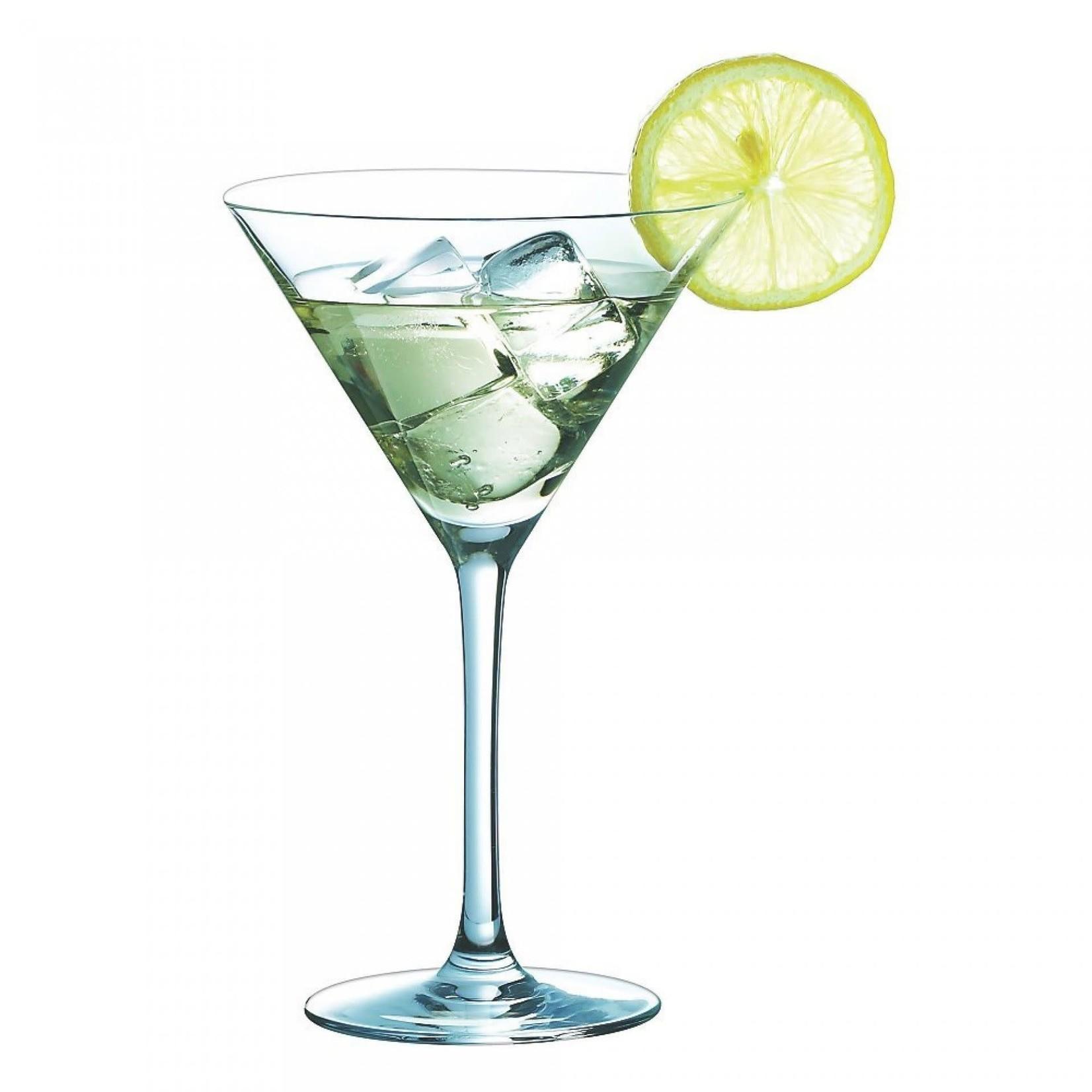 martiniglazen, 6 stuks
