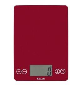 Escali Weegschaal rood