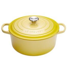 Le Creuset Cocotte geel 24cm