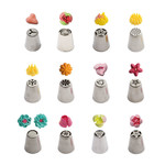 Decora Spuitmondjesset bloemen 3D type 1