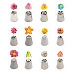 Decora Spuitmondjesset bloemen 3D type 2