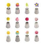 Decora Spuitmondjesset bloemen 3D type 3