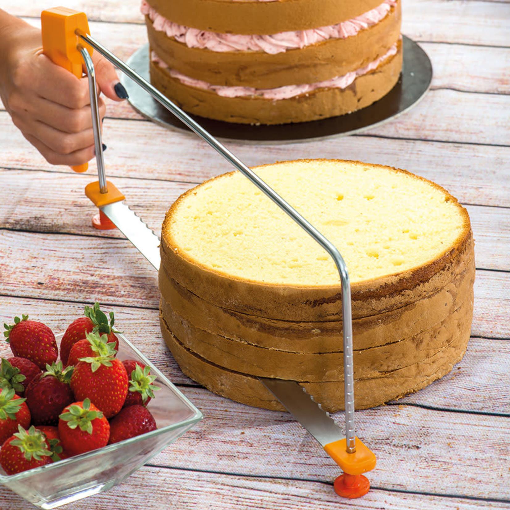 Decora Verstelbare cakesnijder