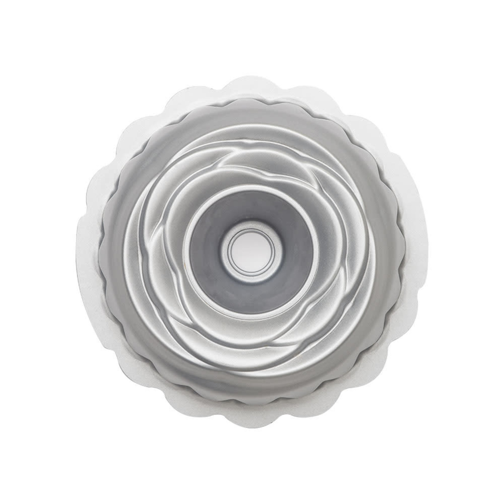 Decora bakvorm roos 20cm met antikleeflaag