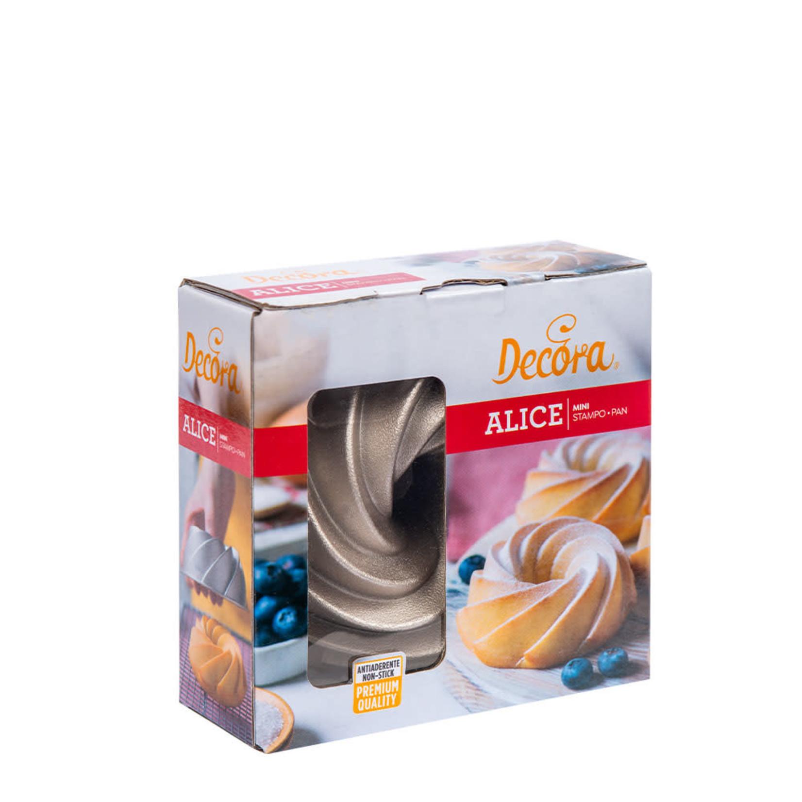 Decora Aluminium bakvorm Mini Alice 10cm