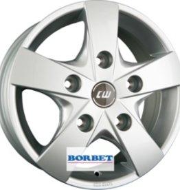 "Borbet Wheels Borbet ""CWF"" 6,5 x 16 Audi , BMW , Mercedes , Seat , Skoda , VW"