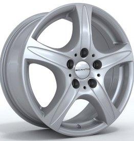 "Ecanto Wheels Ecanto ""E155"" 7,5 x 17 Audi , Daewoo , Fiat , Honda , Kia , Mazda , DB , Mini , Mitsubishi , Rover , Seat , Skoda , VW ...."