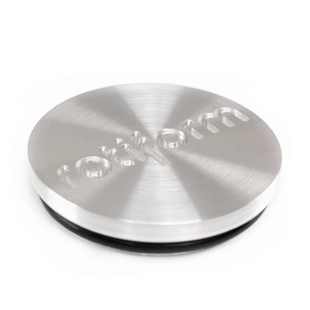 "Rotiform Wheels ""Rotiform Forged Nabendeckel in Silber gebürstet""Stück."
