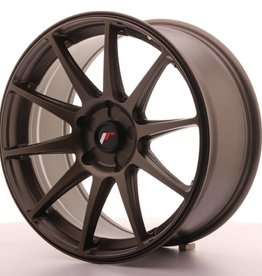 Japanracing Wheels JR Wheels 8,5 + 9,5 x 18  mit TGA oder Festigkeit.