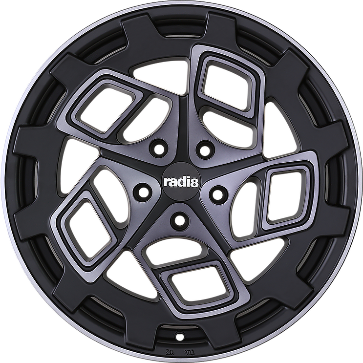"RADI8 Wheels RADI 8 WHEELS  ""r8cm9 "" 8,5 x 18 + 9,5 x 18"