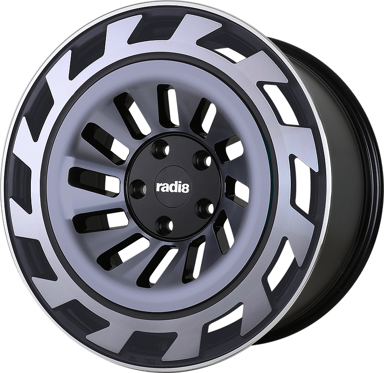 "RADI8 Wheels RADI 8 WHEELS  ""r8t12 "" 8,5 x 19 + 10 x 19"