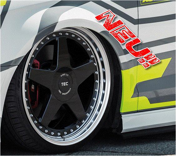 "TEC Speedwheels GT ""EVO-R"" 8 x 18 - 9 x 20 Audi,Daewoo,Fiat,Honda,Kia,Lancia,Mini,Rover,Seat,Skoda,VW ....."