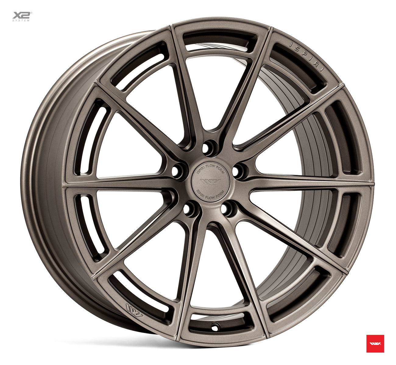 "Ispiri Wheels IW  WHEELS ""FFR2""   8,5  x 20 - 10,5 x 20"