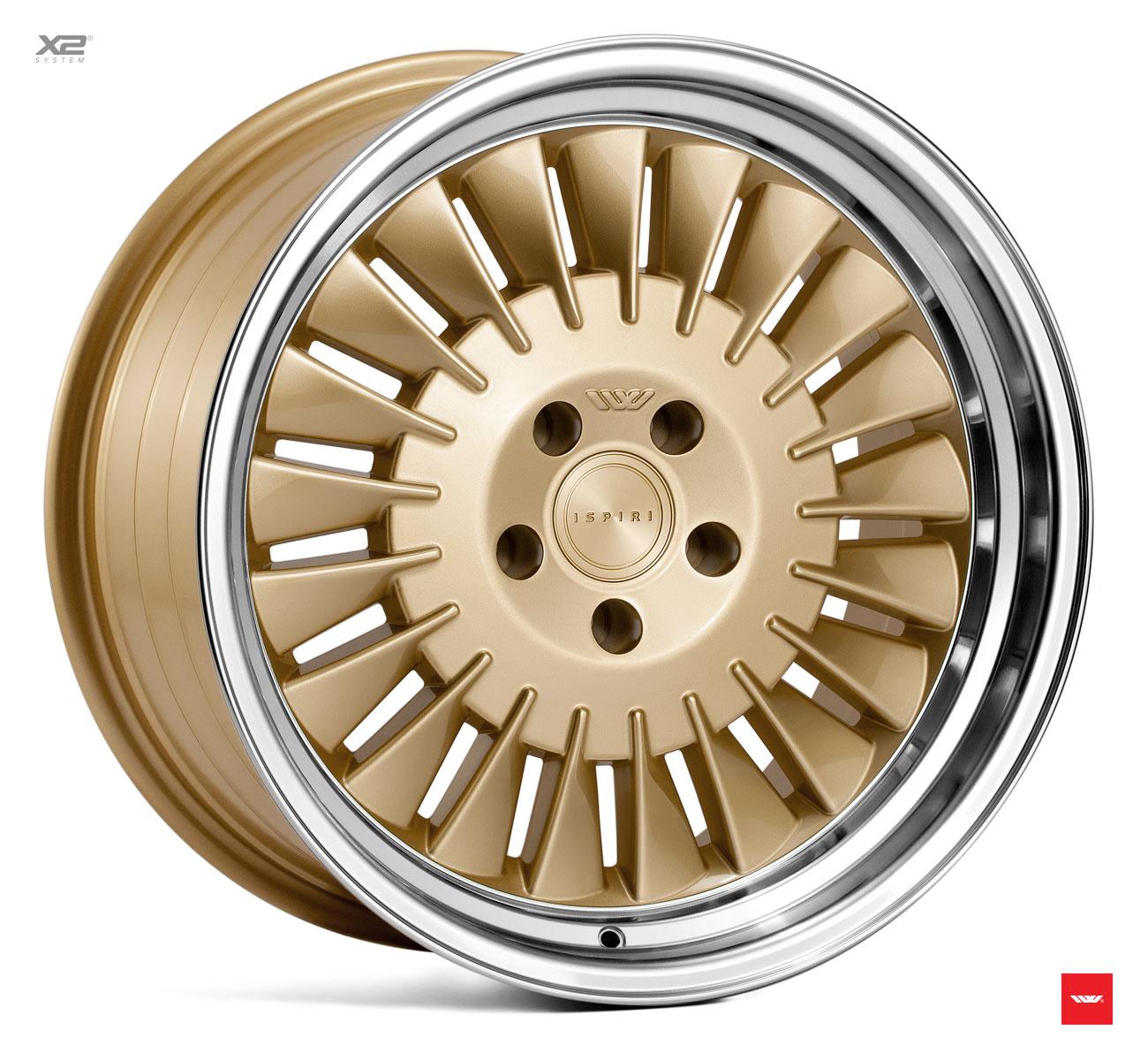 "Ispiri Wheels IW  WHEELS ""CSR1D""   8,5  x  18 - 10 x 19"