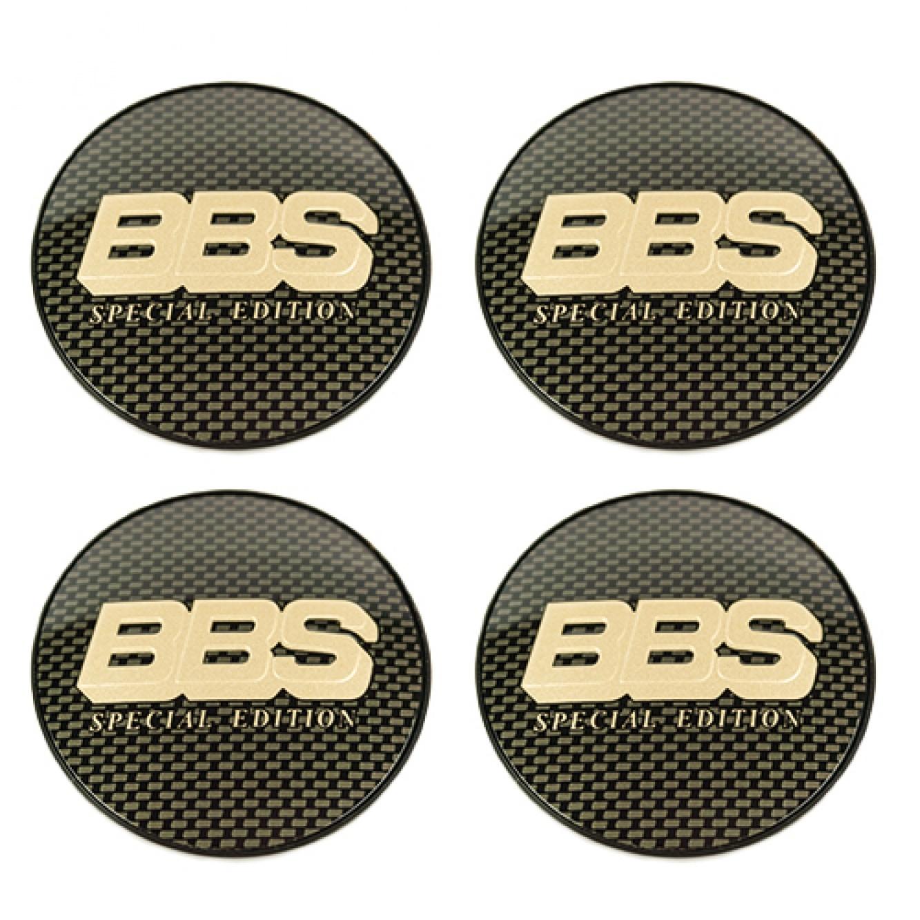 BBS Wheels Symbolscheiben 70,6mm für Zentralverschlußkit für BBS (CH-HR/II) Felgen