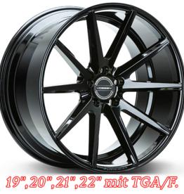 """Vossen Wheels Vossen Wheels """"VFS-1"""" 11 x  20 -10,5 x 22"""