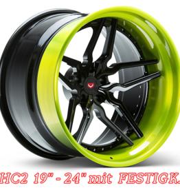"""Vossen Wheels Vossen Wheels """" HC2""""   8 x 18 -10 x 24"""