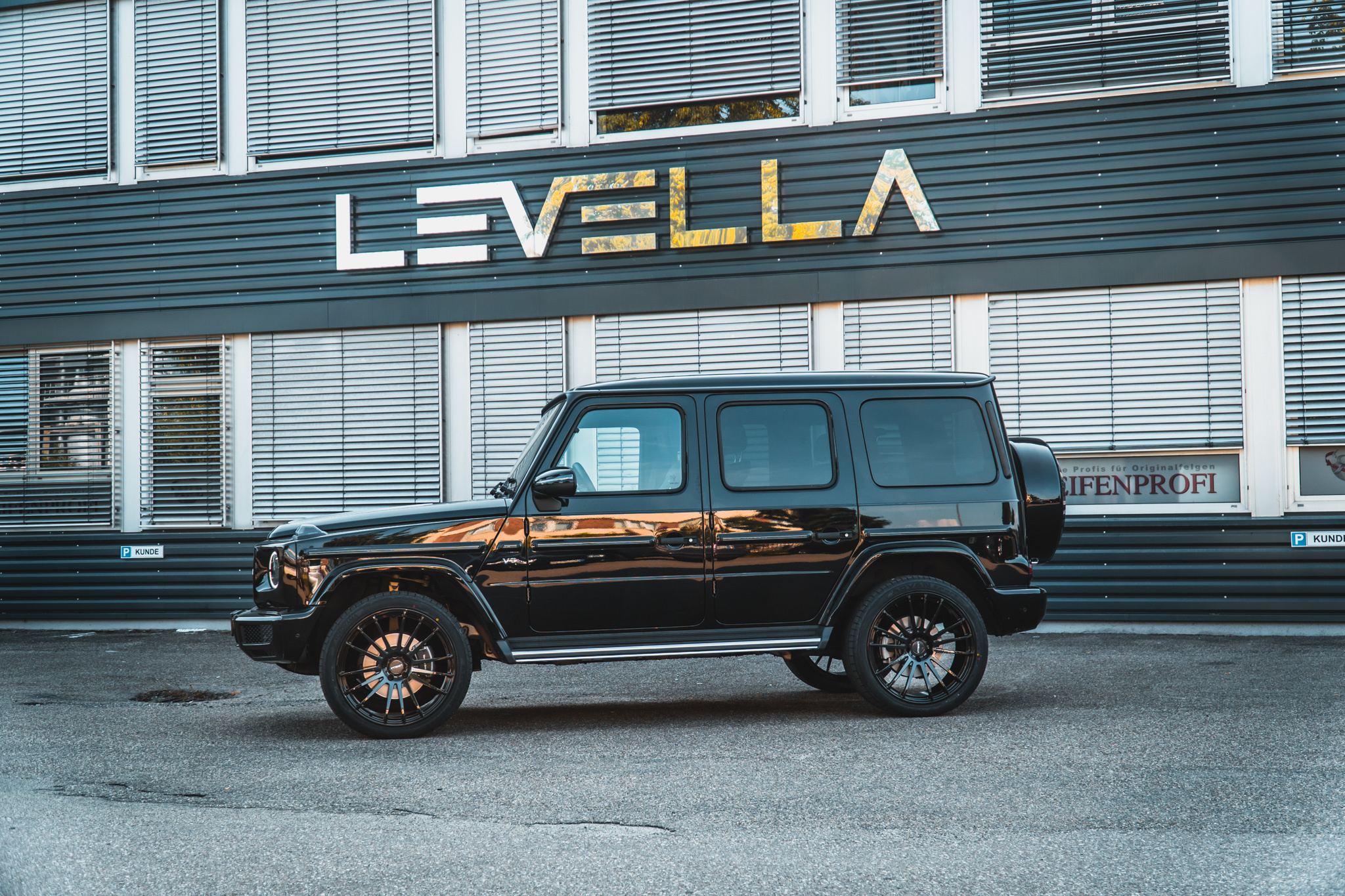 Levella  FORGED |  9,5 x 22 - 11 x 22    TGA / Festigkeit.
