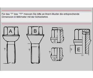 GOGOLO 21-teiliges Radschlossschl/üssel-Entfernungs-Kit Anti-Diebstahl-Radmutter-Schrauben-Entfernungsschl/üssel-Set f/ür BMW mit 12,7 mm Stecknuss-Adapter