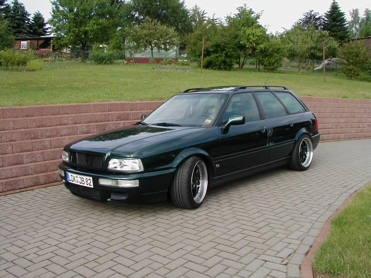 Audi 80 Avant 2,8 Quattro mit Vollausstattung