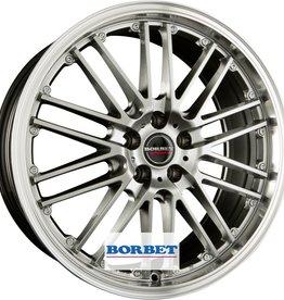 """Borbet Wheels Borbet """"CW2"""" 8 x 17 Audi , BMW , Mercedes , Seat , Skoda , VW"""