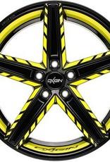 """Oxigin Wheels Oxigin """"18 Concave """" 11,5 x 22 """" Festigkeitsgutachten """"Neon"""""""