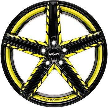 """Oxigin Wheels Oxigin """"18 Concave """" 10,5 x 21 """" Festigkeitsgutachten """"Neon"""""""