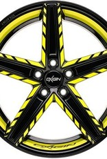 "Oxigin Wheels Oxigin ""18 Concave "" 8,5 x 18 "" Festigkeitsgutachten ""Neon"""