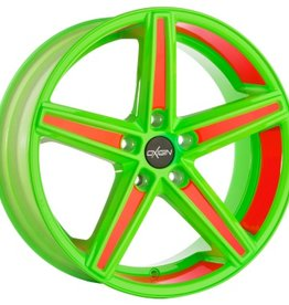 "Oxigin Wheels Oxigin ""18 Concave "" 7,5 x 18 "" Festigkeitsgutachten ""Neon"""