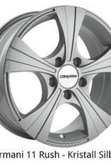 "Carmani Wheels Carmani "" 11 Rusch "" 6,5 x 16 Audi,Ford,Fiat,Mercedes,Mitsubishi,Nissan,Renault,Seat,Skoda,VW ....."
