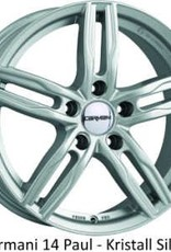"Carmani Wheels Carmani "" 14 Paul "" 7 x 16 Audi,Ford,Fiat,Mercedes,Mitsubishi,Nissan,Renault,Seat,Skoda,VW ....."