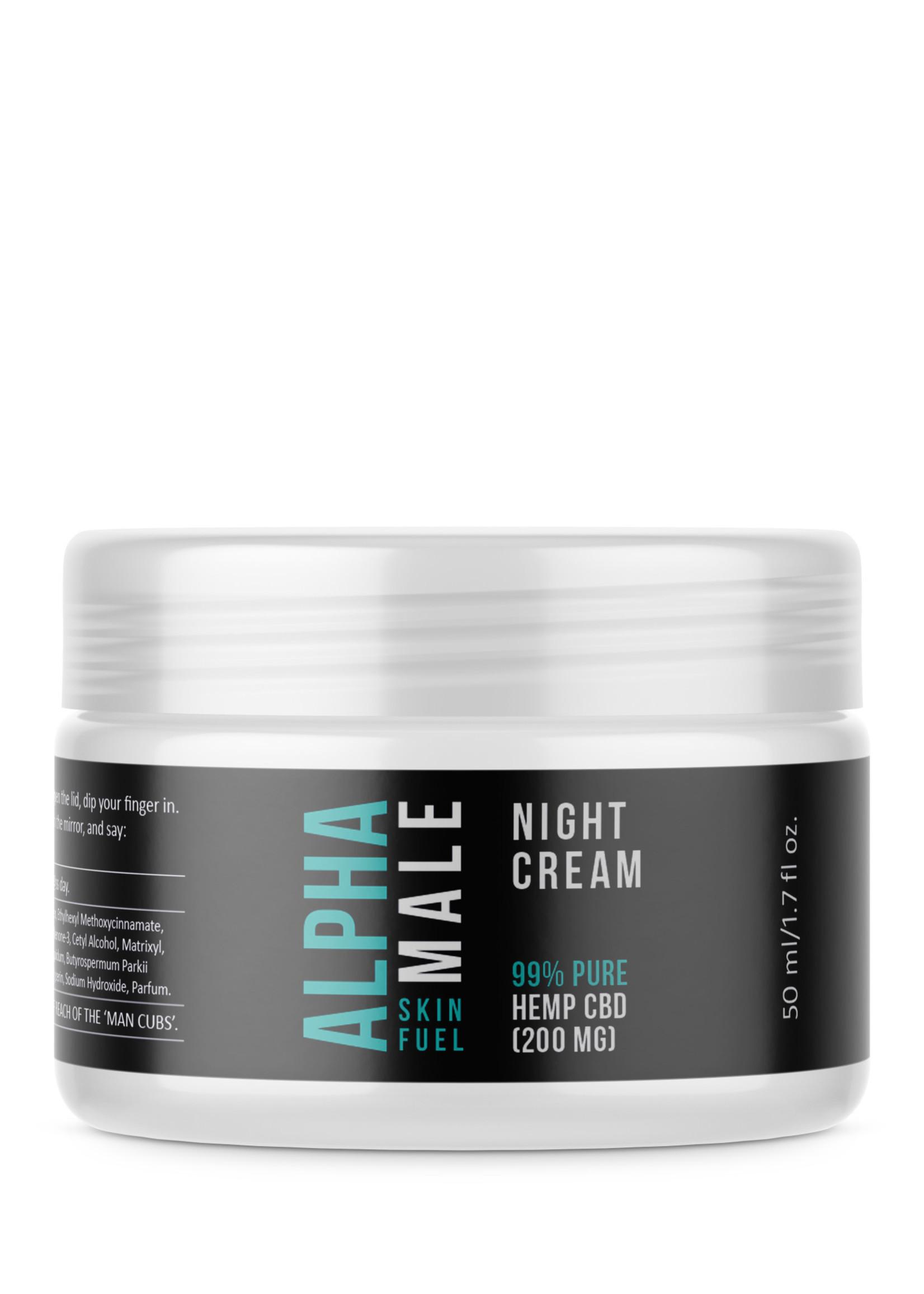 Alpha CBD - Male Night cream