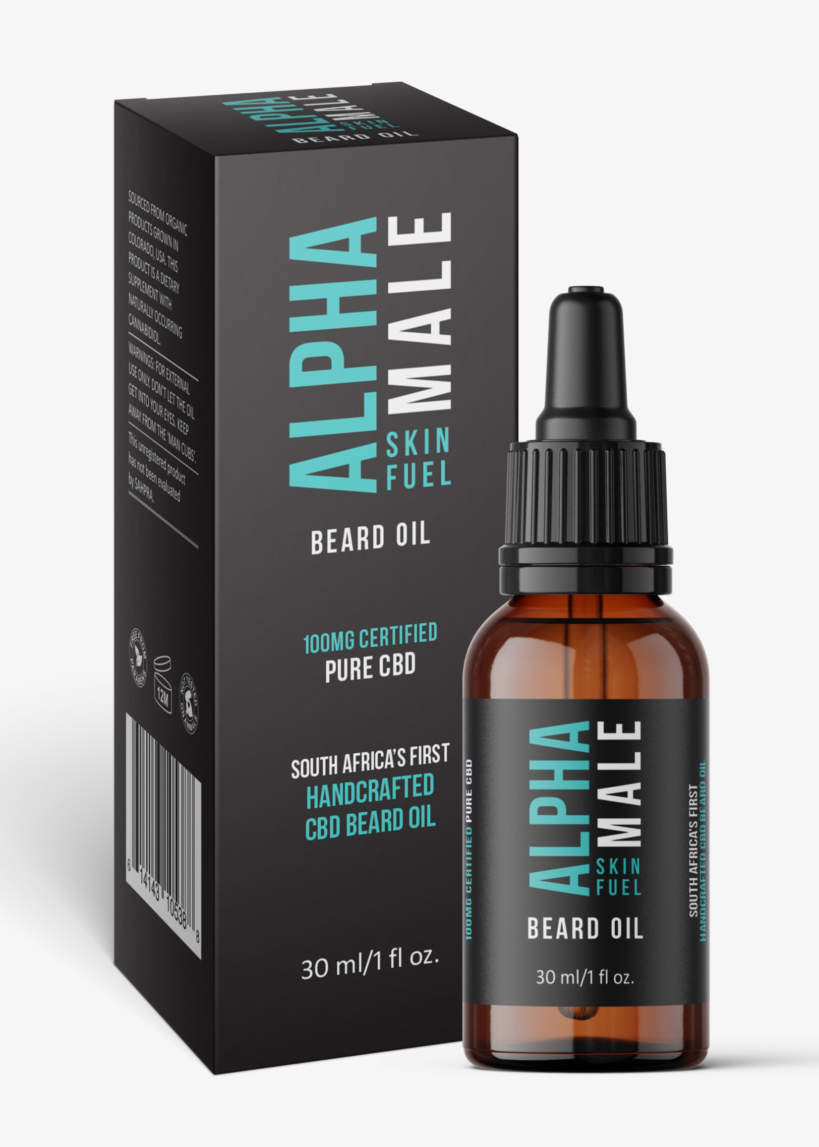 Alpha CBD - Male Beard oil