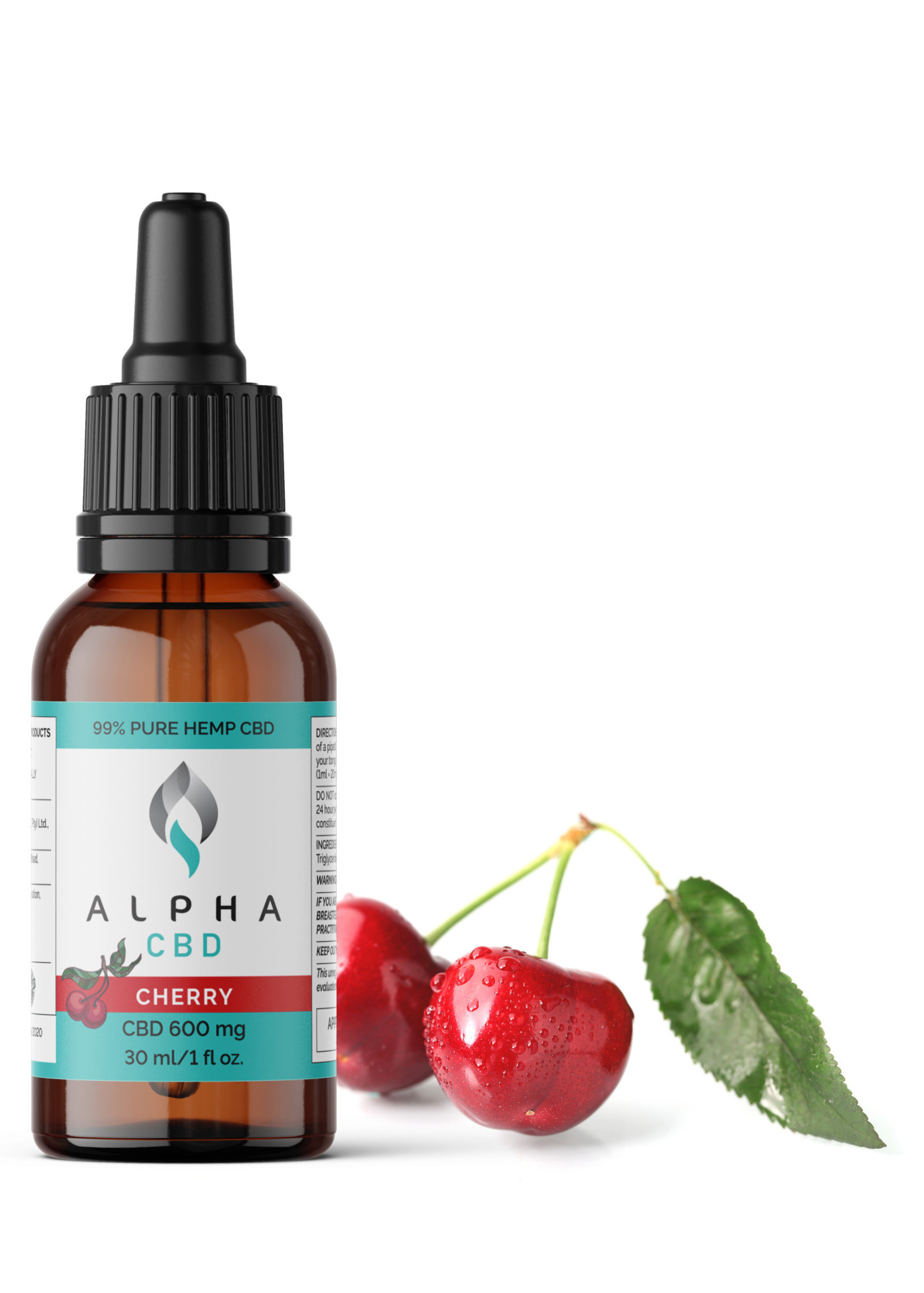 Alpha CBD oil - cherry