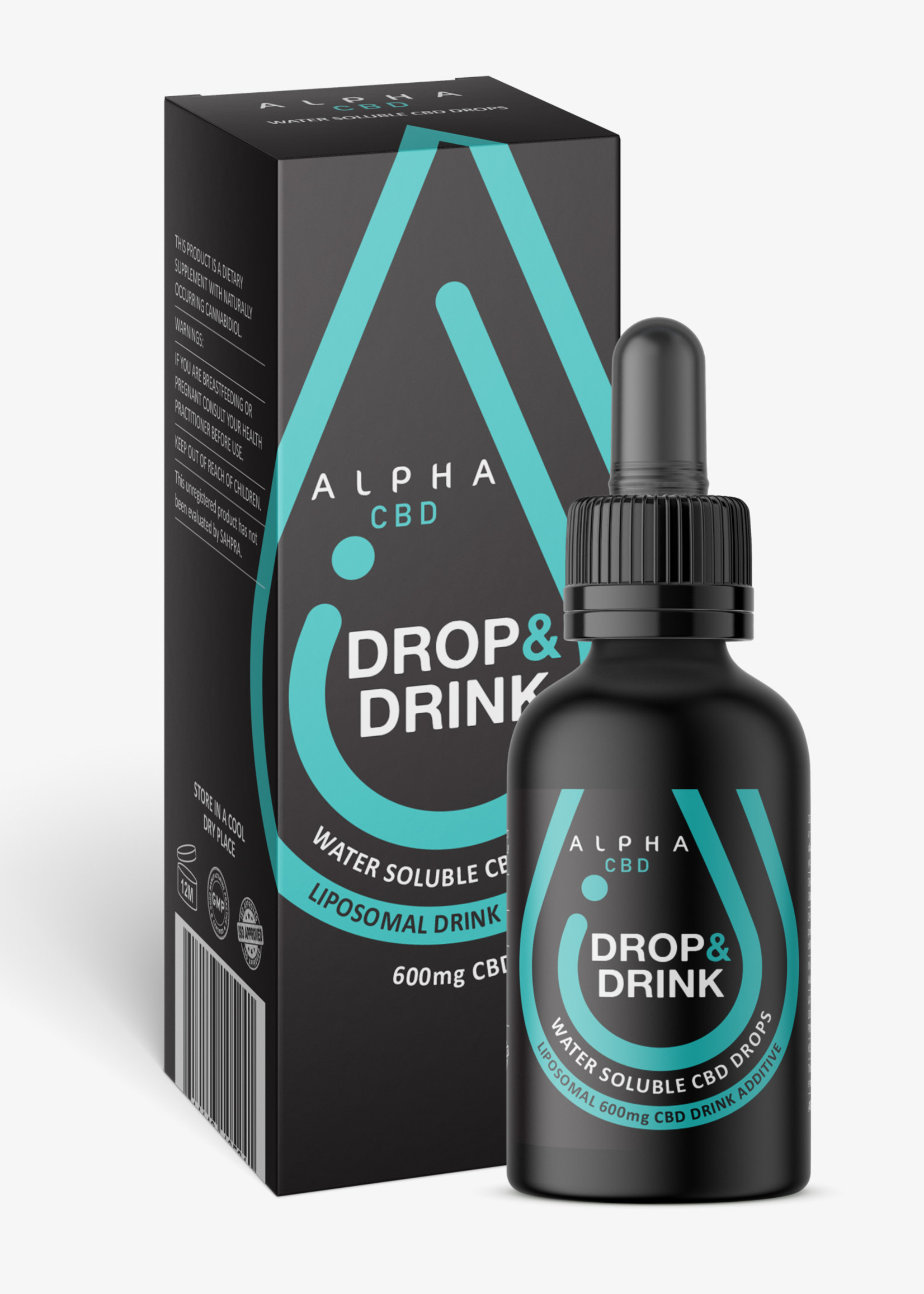 Alpha CBD - Drop & drink