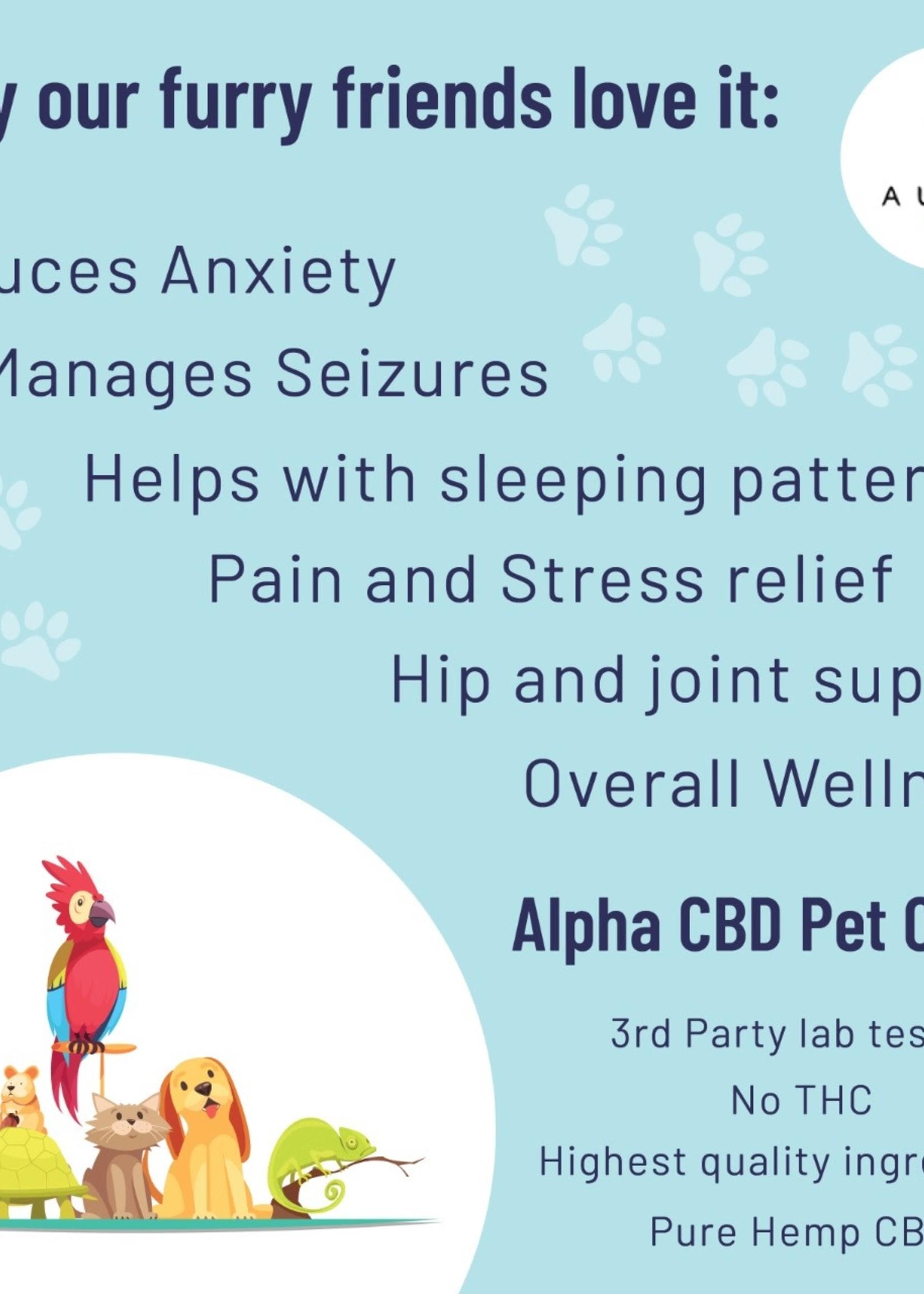 Alpha CBD - Pet oil