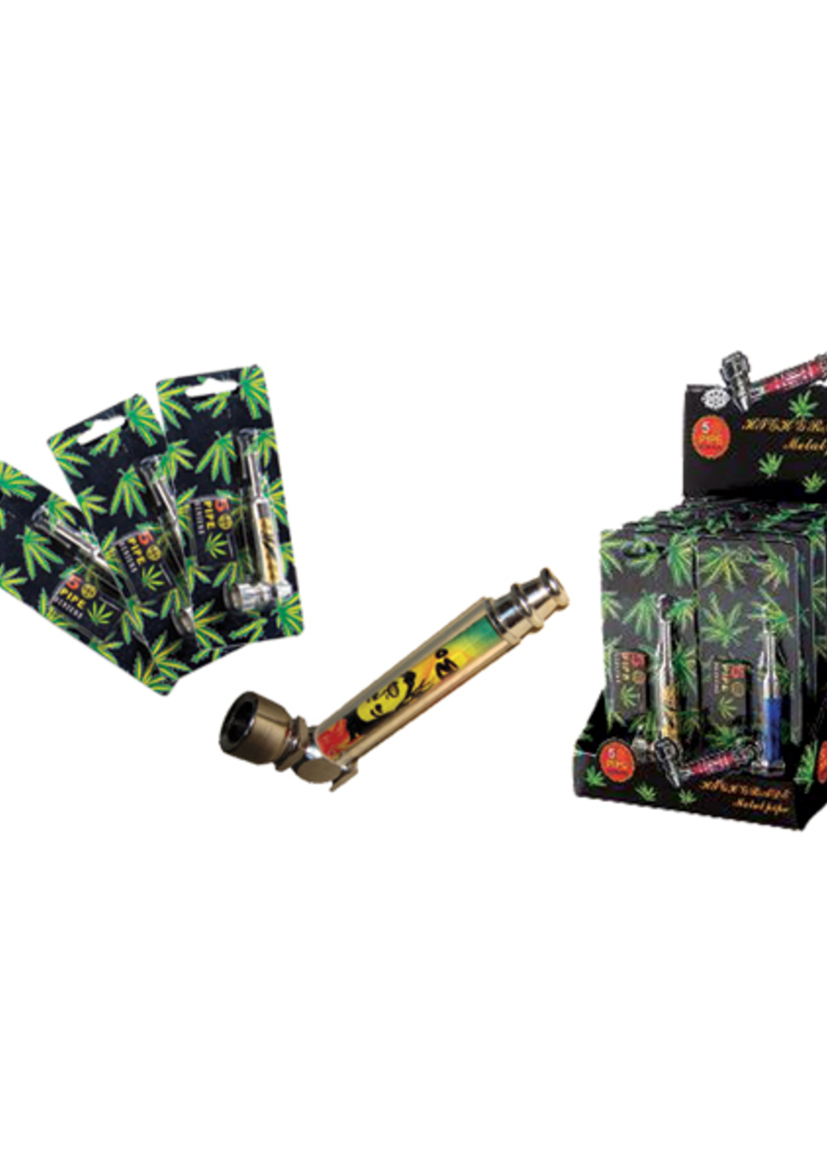 Assorted Rasta pipes - small