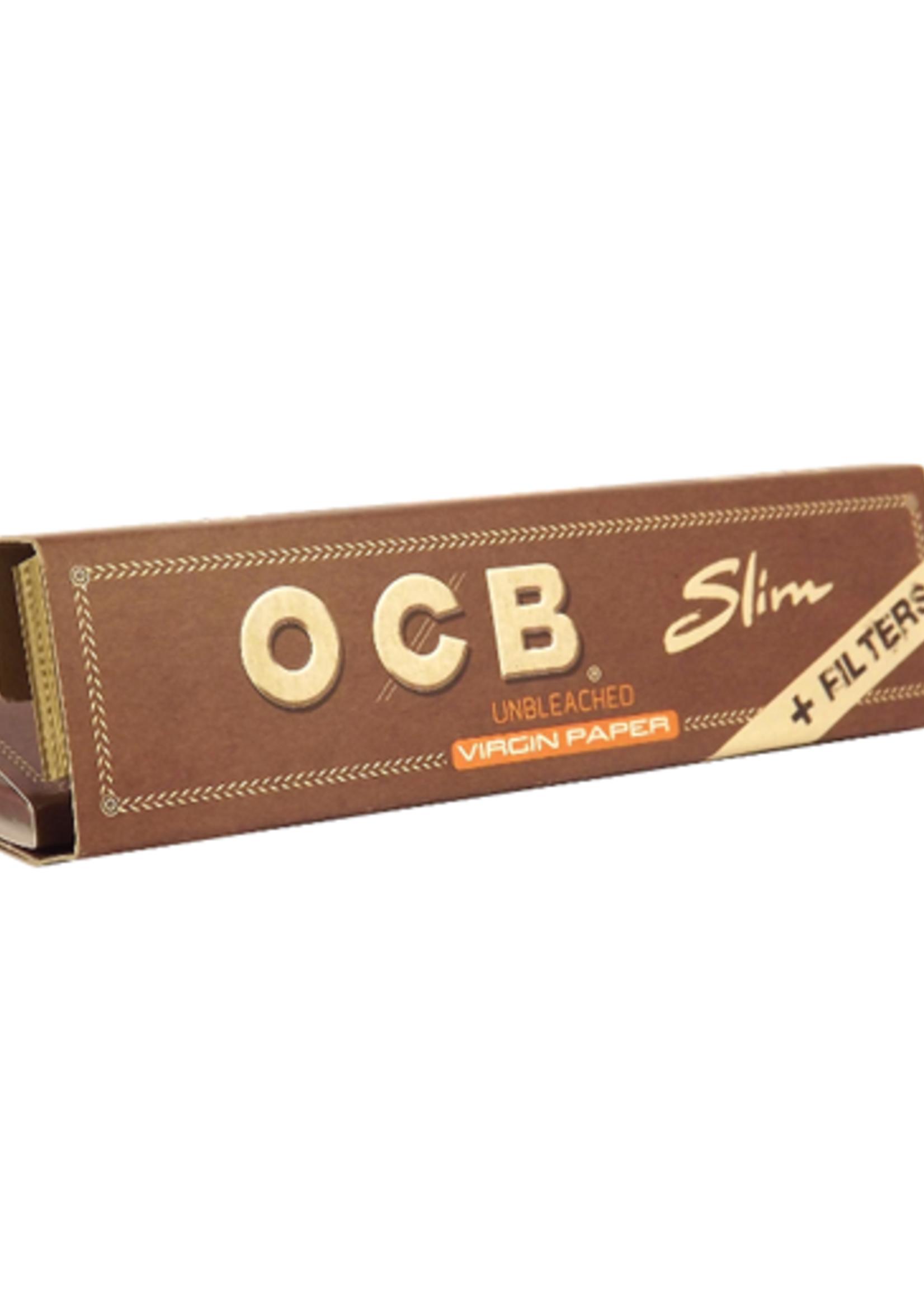 OCB - Unbleached paper & tips