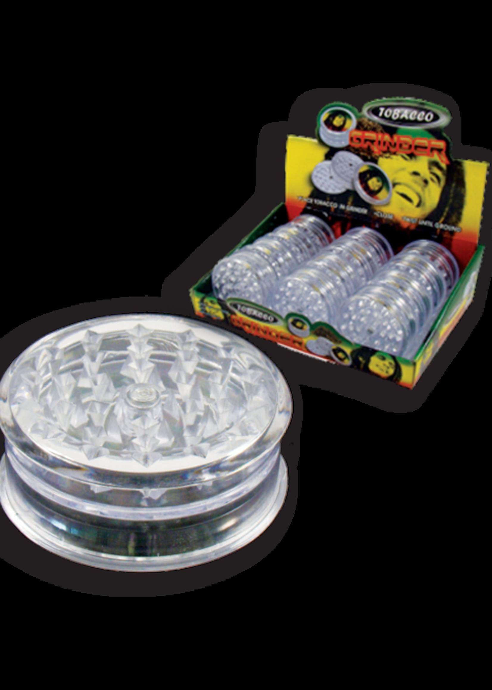 Herb grinder - Clear plastic